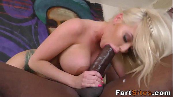 Blonde whore rides bbc