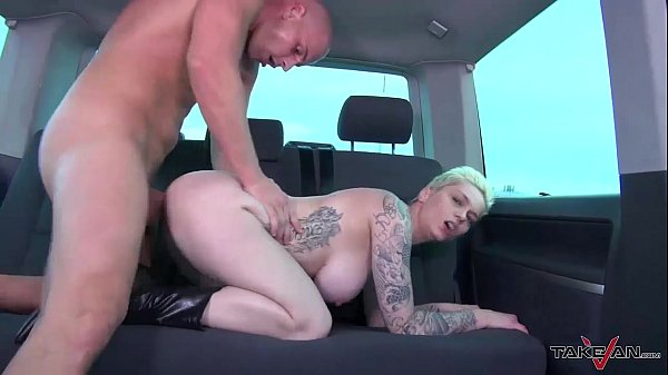 Sex Addict Chick Gets Fuck of her Life in van o...