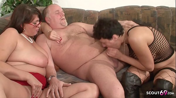 MILF Neigbour Help Old Couple for Good Sex and Join German Thumb