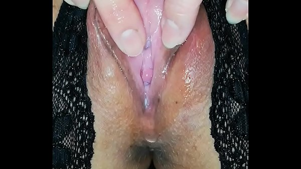 Crotchless Pantie Fingering Play
