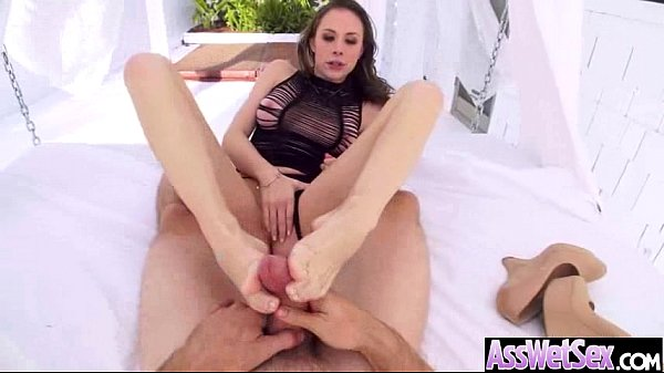 Curvy Big Butt Girl Get Oiled And Nailed In Ass mov-08