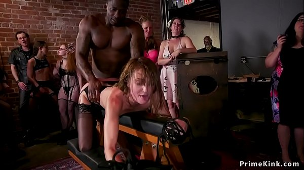 Huge black cock man fucking slaves