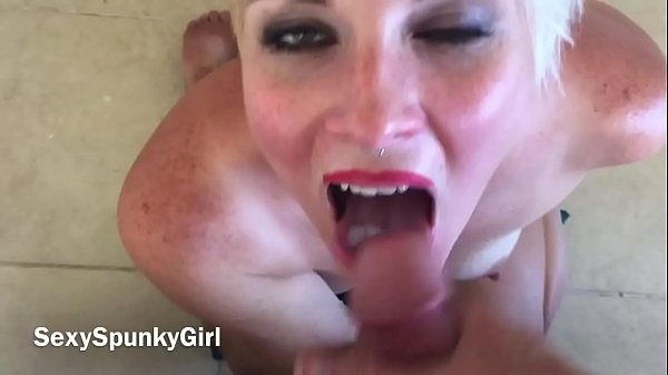 She Begs For Cum in Mouth and Swallows Every Drop!