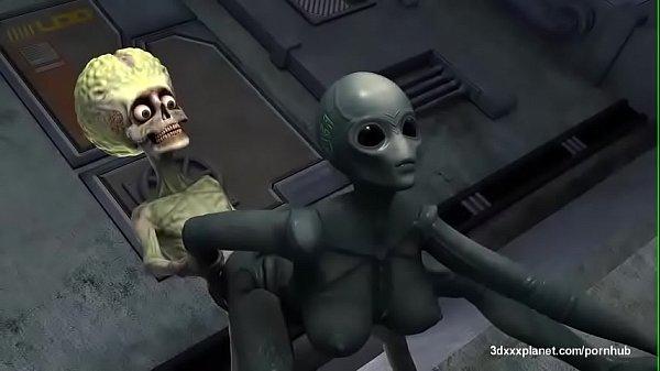 3d hardcore alien fuck hard on ship