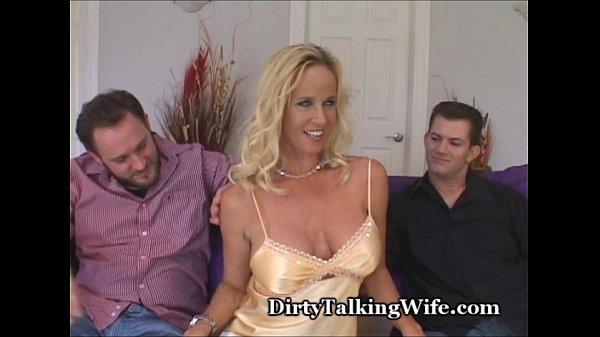 Amateur Ehefrau Double Stuffed