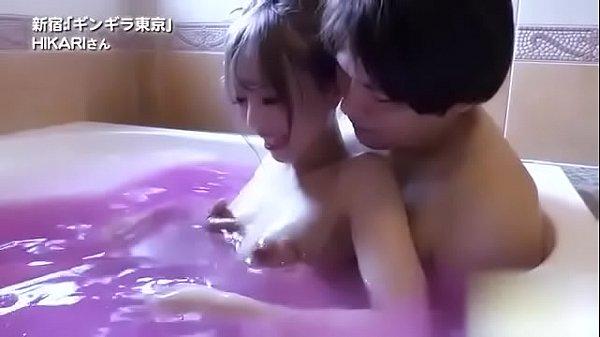 ギンギラ東京 風俗体験動画 スレンダーエロギャルHIKARIデビュー!!【Part.1】