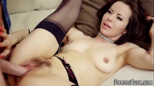 Stockings beauty railed