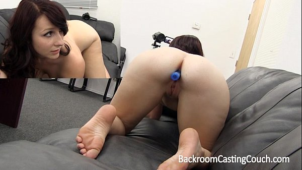 Girl Next Aria Ass Fucked & Creampie on Casting...