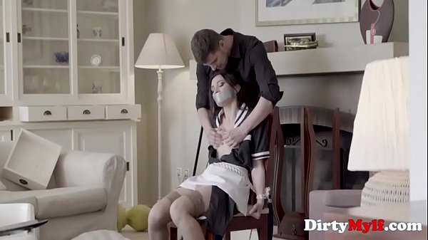 MILF Maid Tied Up And Fucked By Intruder- Valentina Bianco