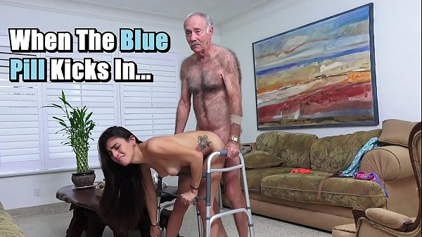 BLUE PILL MEN - Michelle Martinez Fucked By Geriatric Stud Who's Still Slinging Dick In His Old Age