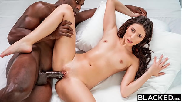 BLACKED Sexy Hime has eyes for her personal tra...