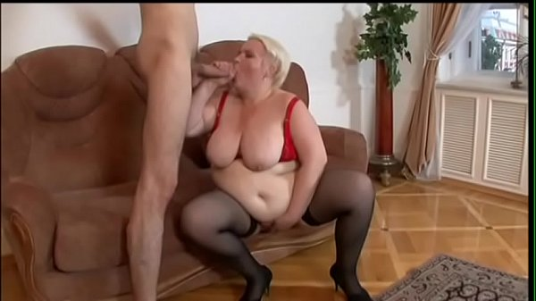 Stud bangs a hot blond mature hooker Marina and bust cum on her face after BJ Thumb