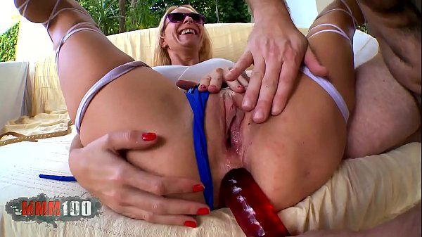 Hot spanish blonde Milf b. ass and pussy fucking