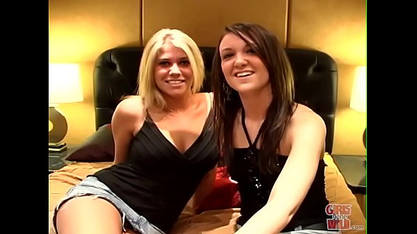 GIRLS GONE WILD - Teen Besties Jessica and Ashleigh Get Comfortable With Each Other After The Party
