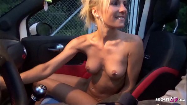 Cute German Teen NinaXS Fuck with Stranger for Thanks Pickup Thumb