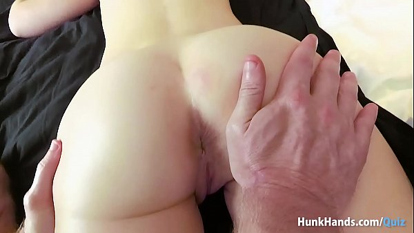 Bubble butt British babe SQUIRTS all over the h...