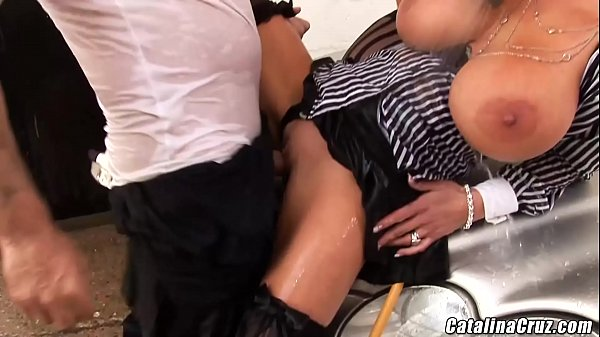 I let Sharon Pink fuck my husband I watched and helped swallowed cum