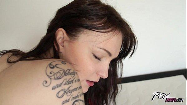 Povbitch Horny slut Belle Claire fucked hard fr...