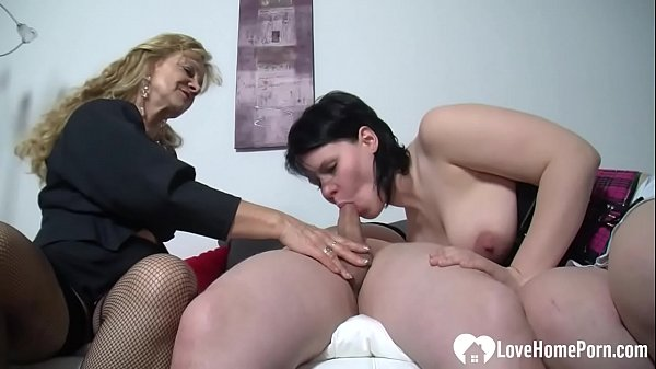Babe watches as a man and chick fuck