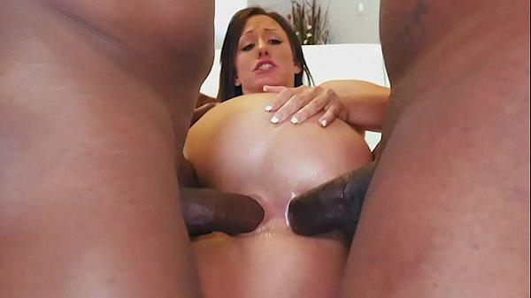 Jennifer White's Big Black Cock DP Featuring Prince Yahshua & Rico Strong Thumb
