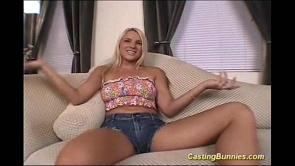 Casting sexy bunny hard fucked