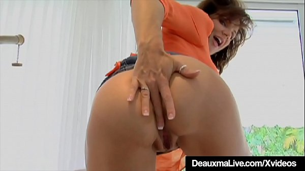 Cock Hungry Cougar Deauxma Gets A Dick In All Her Holes
