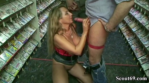 GERMAN BIG TITS MILF Bi JENNY FUCK WITH TWO STRANGER IN VIDEO LIBRARY Thumb