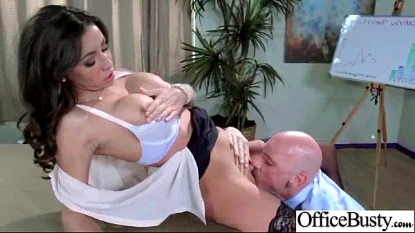 Busty Horny Girl (stephani moretti) Get Hard Style Banged In Office vid-29