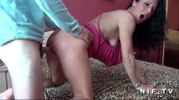 Amateur Milf cougar hard sodomized