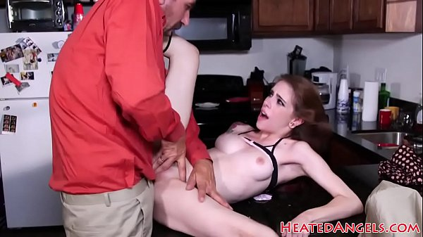 Petite goth babe pussyfucked by stepdaddy Thumb