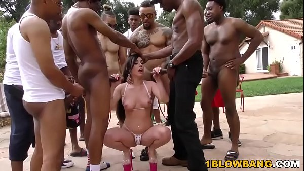 Jennifer White Interracial Orgy