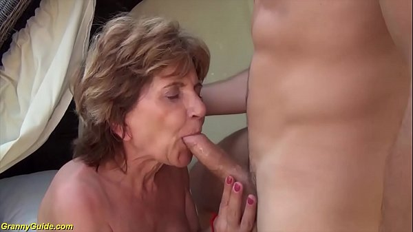 76 years old mom b. outdoor fucked by stepson