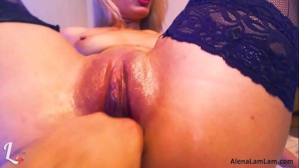 Fisting and Squrting Orgasm - Alena LamLam - We...