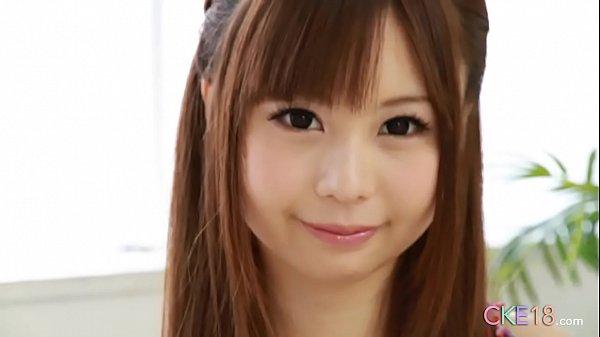 Perfect Japanese teen solo masturbation tease a...