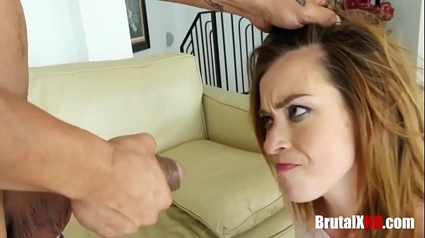 Brunette Teen Brutally f. By Dad
