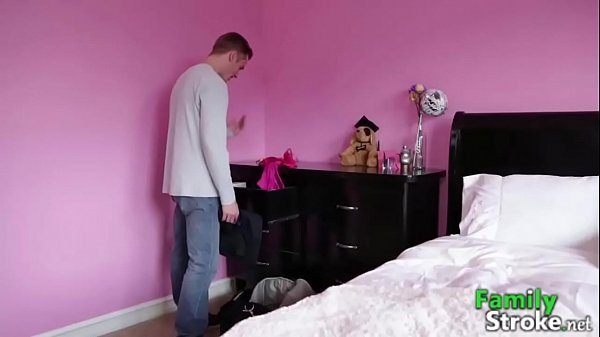 Daring Little Sister Wanking on Brother: Full HD FamilyStroke.net  thumbnail