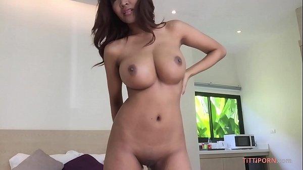 Gorgeous G-sized Boobs on Hot Thai Girl