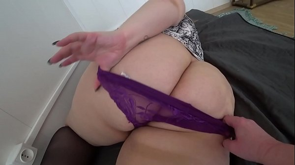 Lesbian with a big butt in different panties PO...