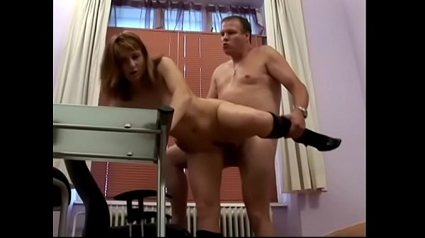 Czech well-padded floozie Marie is seeking employment from salacious  dude with beer belly