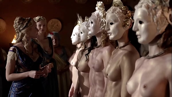 Katrina Law - Completely naked and wearing a mask - (uploaded by celebeclipse.com) Thumb