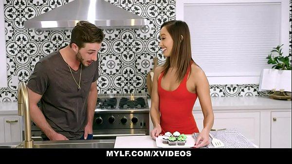 Cute Asian MILF (Christy Love) Bounces On Stepson Dick