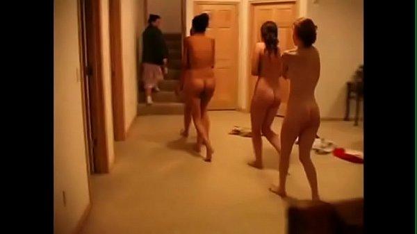 Four Girls spanked