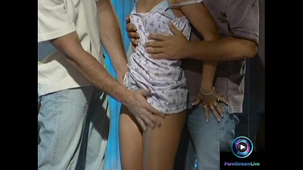 Fresh babe Suzy getting down and dirty with two guys Thumb