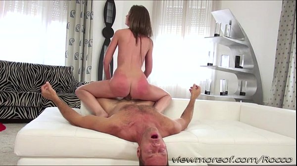 Petite cute girl Leona goes hardcore sex with d...