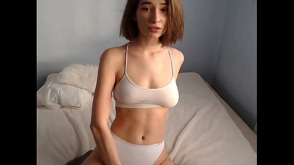 sexy short hair girl on cam - Watch her live on NaughtyCams.Me