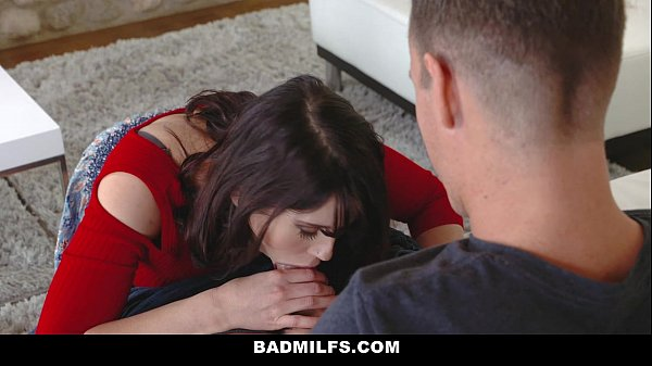 BADMilfs - Step-MOM (Amber Chase) Jacks Off and Fucks StepSon
