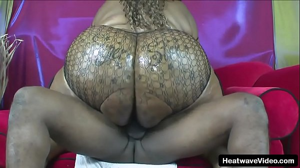 Chubby ebony gets her pussy fucked by black gangster