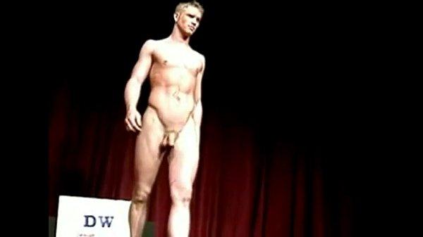 Nude male models video