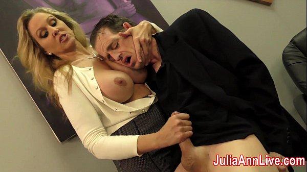 Julia Ann Milks Stepson before his Date!