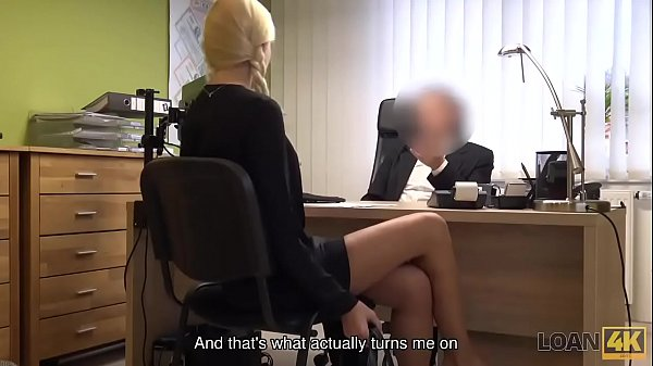 LOAN4K. Adorable miss has spontaneous sex for cash with loan manager Thumb